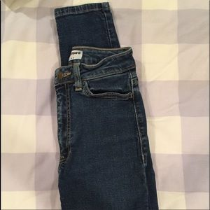 Fitted American Apparel High Waisted Jeans